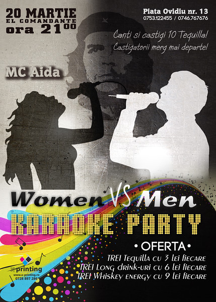 Women vs Men Karaoke Party