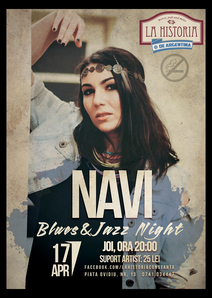 Concert blues & jazz Navi
