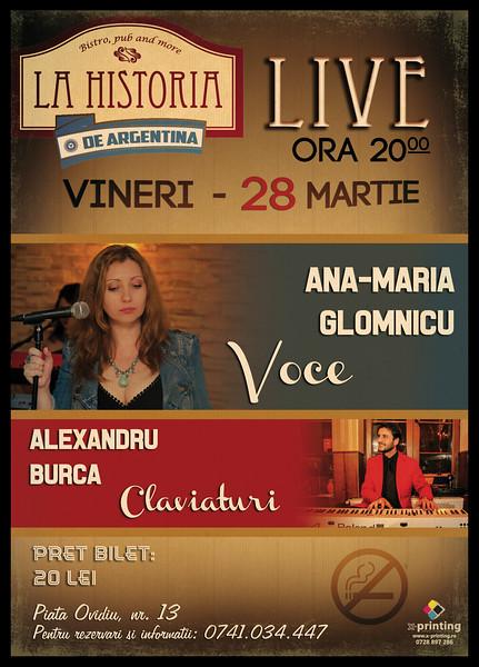 Concert Ana-Maria Glomnicu si Alexandru Burca