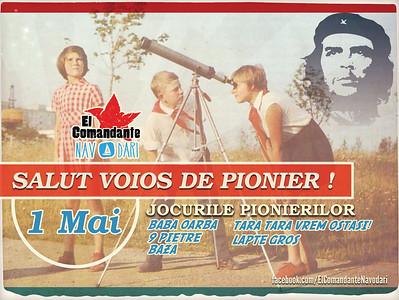 1 Mai - Salut voios de pionier
