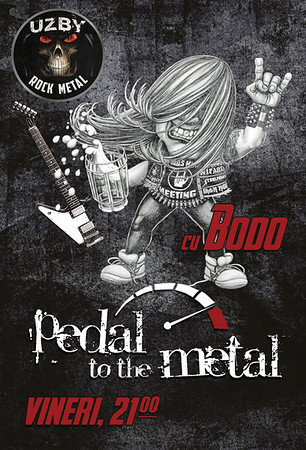 Pedal to the Metal cu MC Bodo