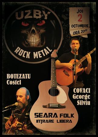 Seara folk cu George Covaci si Costel Botezatu