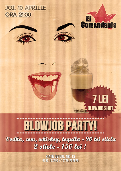Shoturi de blowjob, party