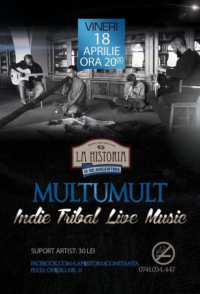 Concert Indie Tribal Multumult