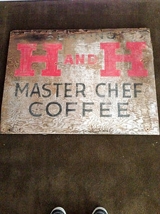 Master Chef Sign