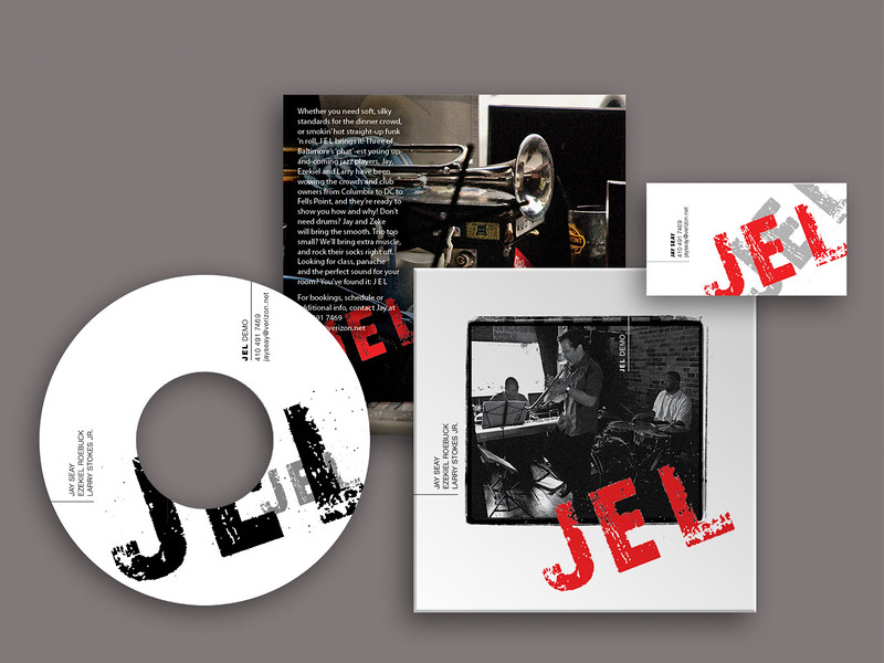 JEL CD Package Graphics
