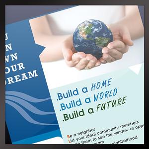 Flyer Be My Neighbor Real Estate Community Program Philippines
