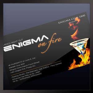 Enigma on Fire Philippines