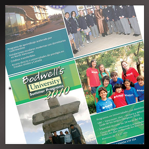 Flyer Bodwell University Program Vancouver, BC Spanish