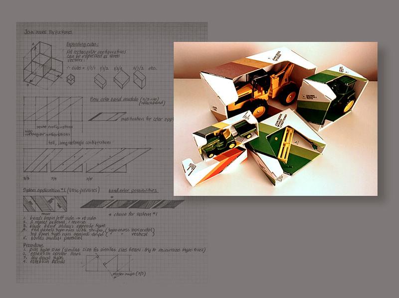 John Deere Toy Packaging System