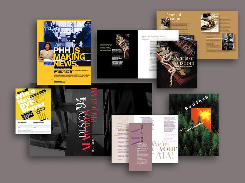 Various Print Materials