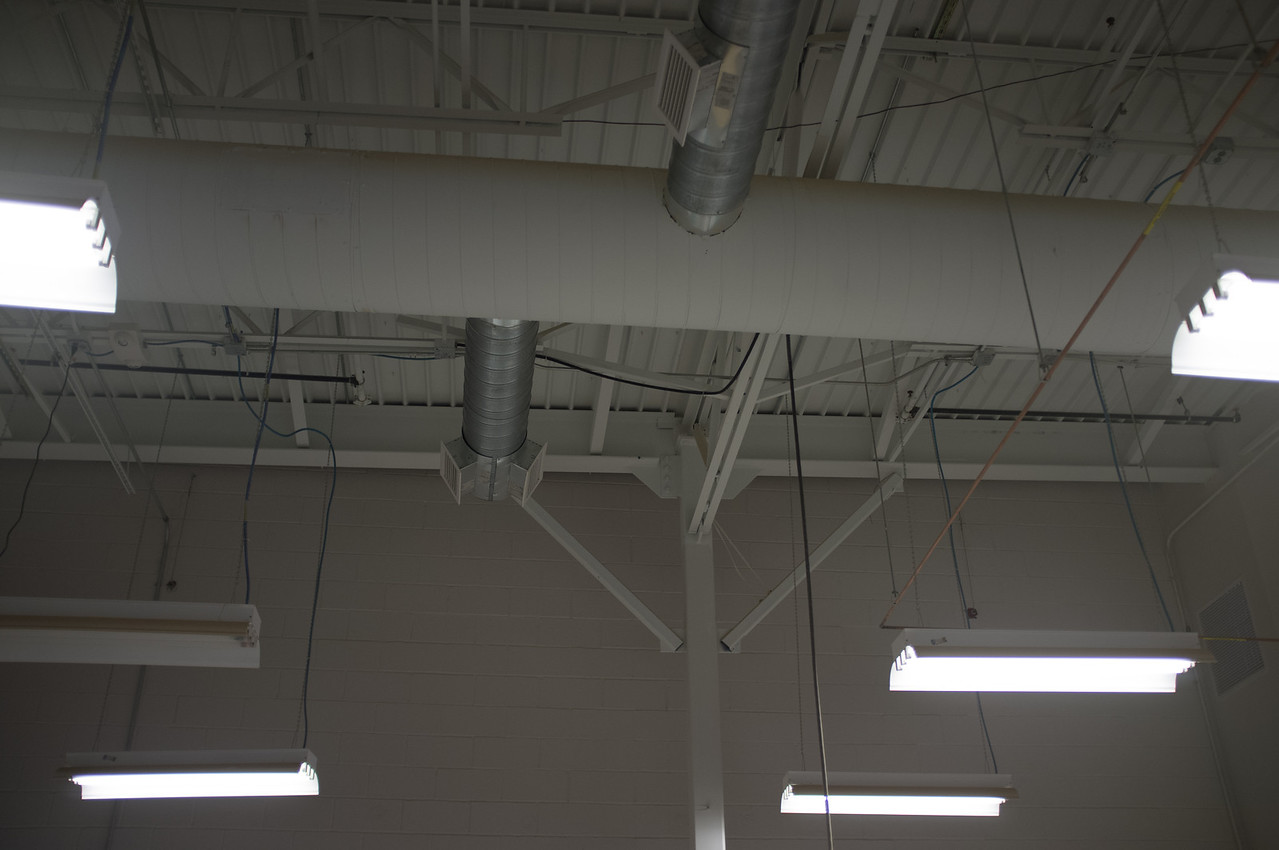 Wood Shop - Ceiling Ducts