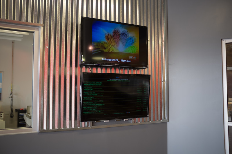 Lobby - Wall Display
