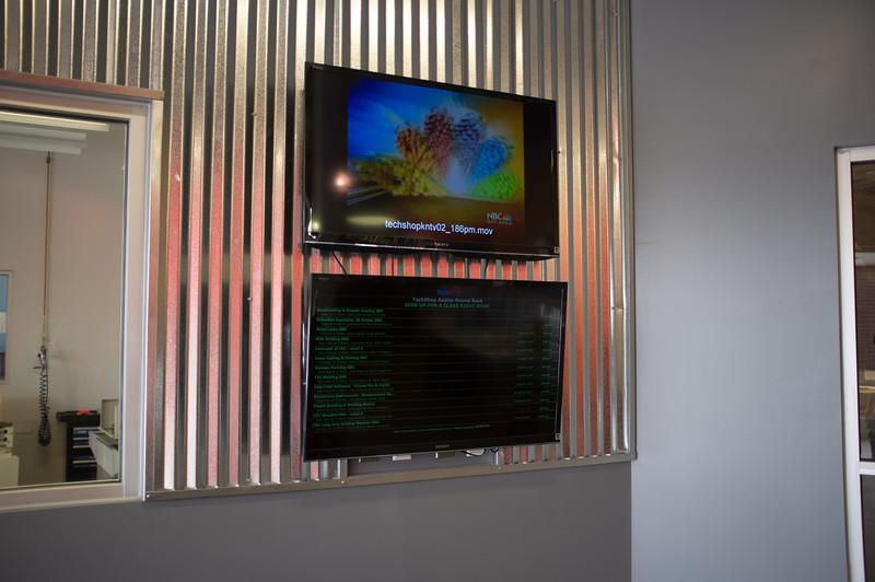 Lobby - Wall Display