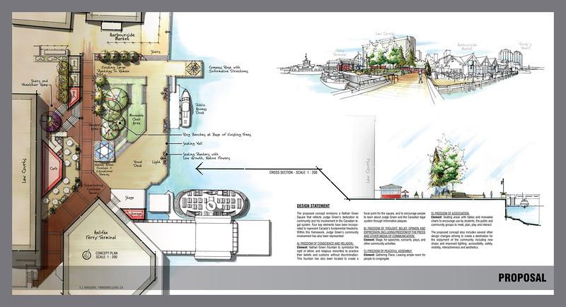 Nathan Green Square - Design Proposal (2008)