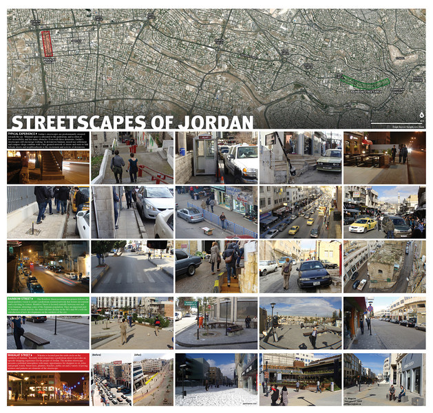 Streetscapes of Jordan - Dalhousie School of Planning International Field Trip (2010)