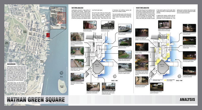 Nathan Green Square - Design Proposal (2008)