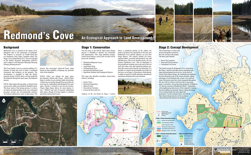 Redmond's Cove - An Ecological Approach to Land Development (2009)
