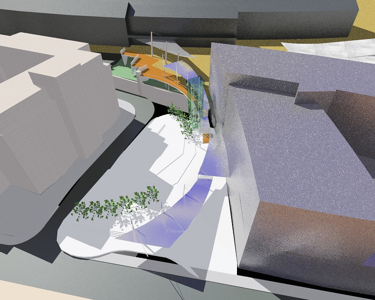 public realm proposal, brighton station 2001