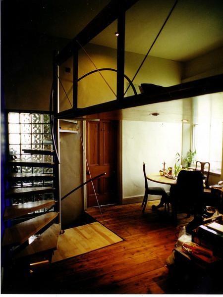 house conversion, chorlton, 1998