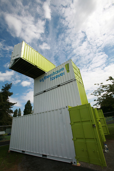 wythenshawe park containers, 2007