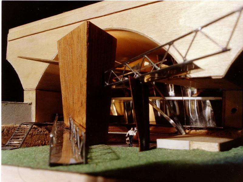 nightclub proposal, castlefield 1993
