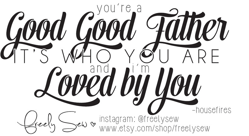 Scripture Card: Good Good Father