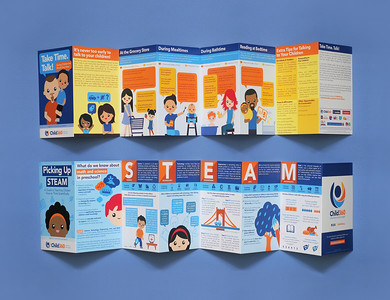 Child360 Brochures: Take Time Talk / Picking Up STEAM