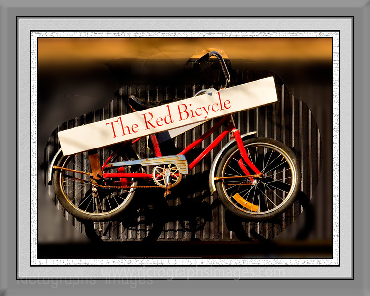 Red Bicycle,Rictographs Images