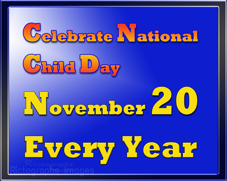 National Child Day November 20th