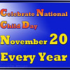 National Child Day November 20th