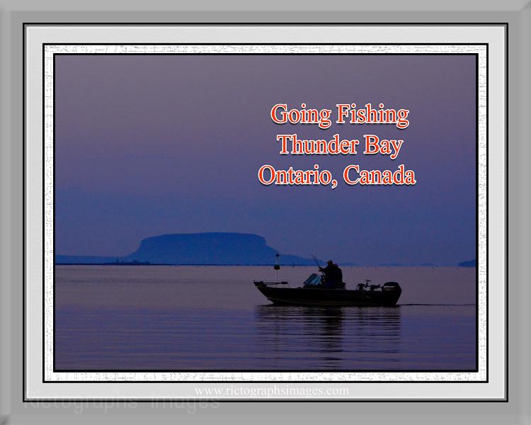 Lake Superior Fishing,  Rictographs Images
