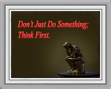 Thinking Thinker,   Rictographs Images