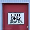 Exit, Door,