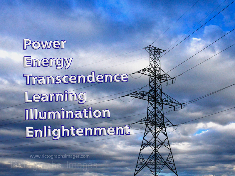 Power, Energy, Transcendence, Learning, Illumination, Enlightenment, Rictographs Images