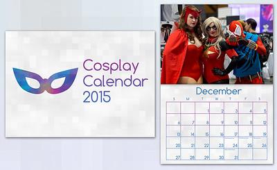 Cosplay Calendar 2015