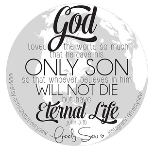 Scripture Card: John 3:16