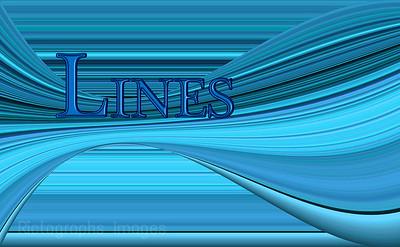 Rictographs Images Designs Blues Stripes, Lines