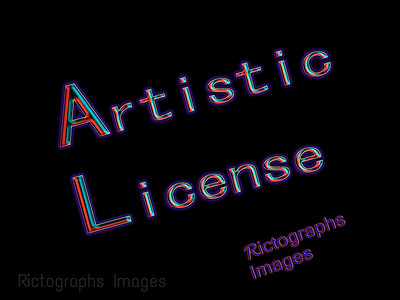 Artistic License, Rictographs Images