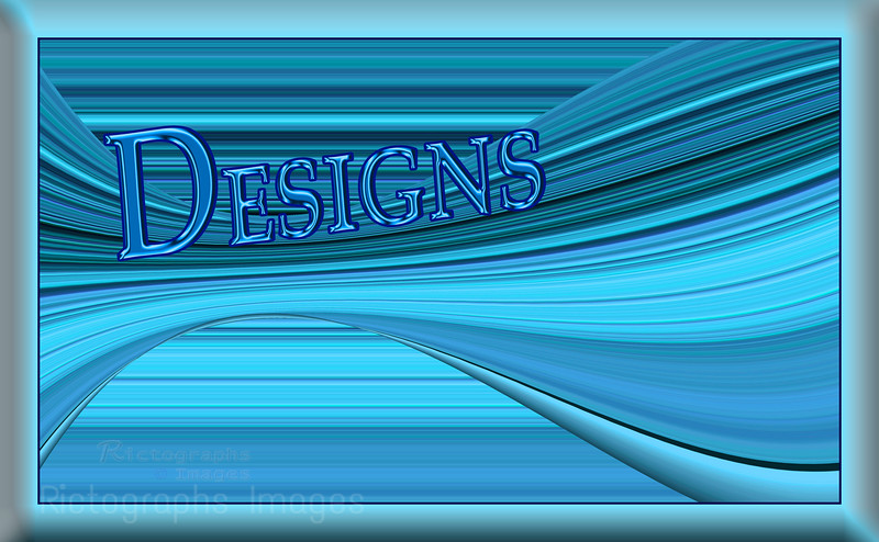 Rictographs Images Designs Blues Stripes