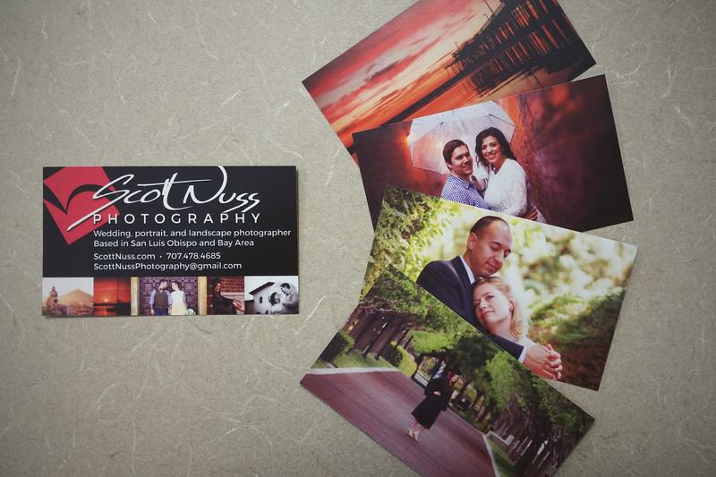 Scott Nuss Photography Business Cards