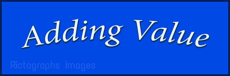 Adding Value, Word Art,