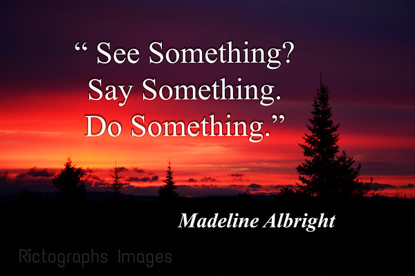 Photo Quote, Madeline Albright, , Rictographs Images