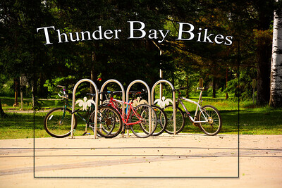 Biking, Thunder Bay, Ontario, Canada