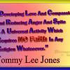 Word, Art, Tommy Lee Jones, Quote