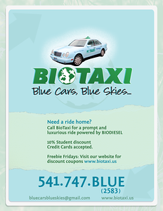 BioTaxi Promotional Poster