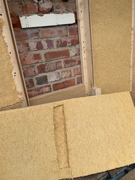 pocketing out 50mm where the old brick feature is left - seemed easier than lumps later
