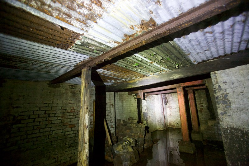 the cellar hidden for 35 years