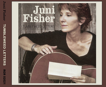 "January 2013 Juni Fisher Redesign of ""Tumbleweed Letters"" from jewel case to digipack"