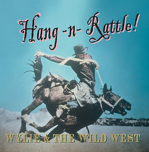 "January 2009 Wylie Gustafson Limited Edition Pre-Release Jacket & CD Design ""Hang -n- Rattle!"""